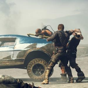 Mad Max - ambushed by bandits