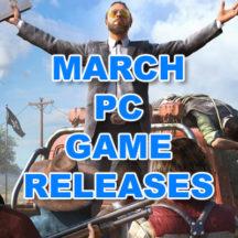 Salidas Juegos PC Marzo 2018