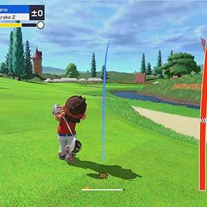 Mario Golf Super Rush Distancia