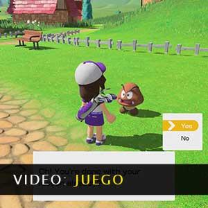 Mario Golf Super Rush Vídeo del juego