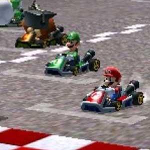 Mario Kart 7 Nintendo 3DS Race
