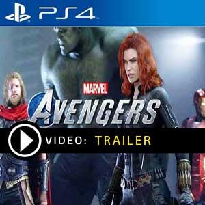 Marvels Avengers Video Trailer
