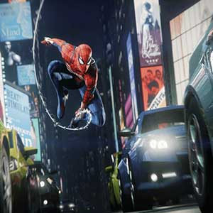 Marvel's Spider-Man Remastered PS5 Times Square