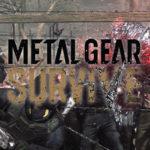 Metal Gear Survive sera unicamente en línea y con microtransacciones