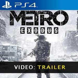 Metro Exodus PS4 Vídeo del Tráiler