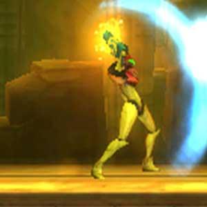 Metroid Samus escudo de rayos