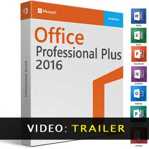Microsoft Office 2016 Professional Plus video trailer