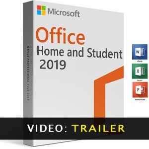 Vídeo del tráiler de Microsoft Office Home & Student 2019
