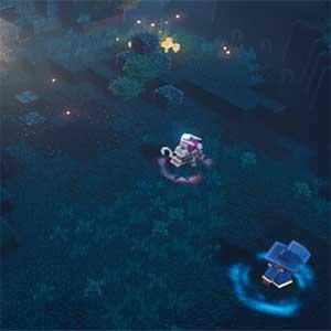 Calabozos de Minecraft - Explorar el tesoro