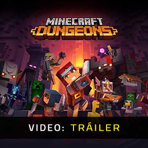 Minecraft Dungeons Tráiler En Vídeo