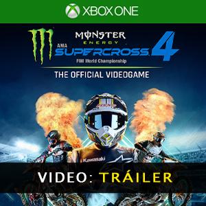 Monster Energy Supercross 4 Vídeo del tráiler