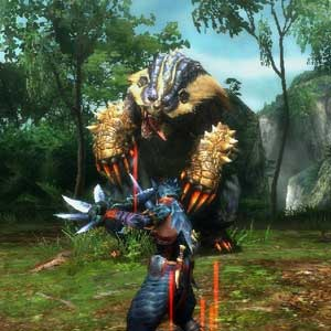 Monster Hunter 3 Ultimate Nintendo Wii U Fight