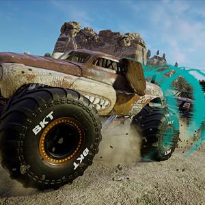Monster Jam Steel Titans 2 Camión monstruoso de perros