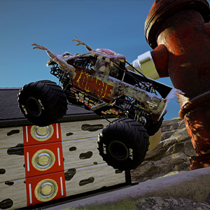 Monster Jam Steel Titans 2 Zombie Monster Truck