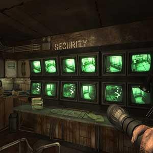 sala de control de seguridad