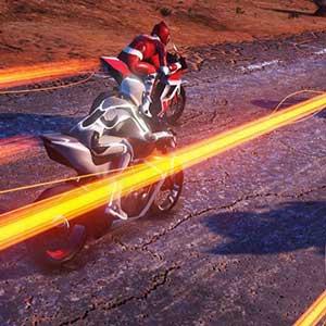 Racer hell-bent opponents