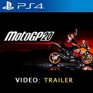 MotoGP 20 PS4 Vídeo Del Tráiler