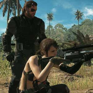 Metal Gear Solid 5 The Phantom Pain - Serpiente de Veneno y Silencio