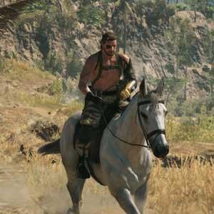 Metal Gear Solid 5 The Phantom Pain - Paseo a caballo