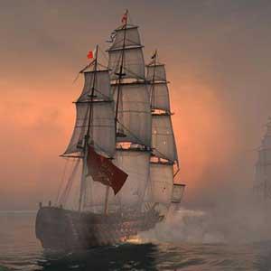 Naval Action Santisima Trinidad en acción