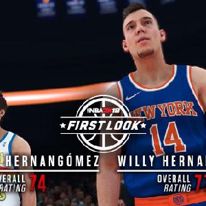 NBA 2K18 First Look - Juancho Hernangomez