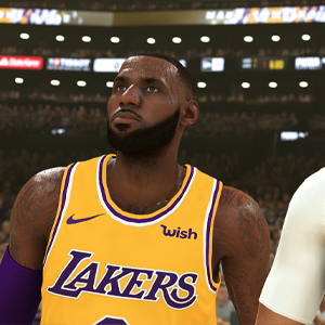NBA 2K20 - LeBron James y Anthony Davis