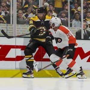 NHL 21 Boston Bruins contra Philadelphia Flyers
