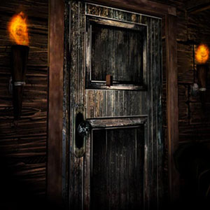 The Door That Leads Inside The Mansion