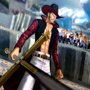 One Piece Burning Blood PS4 Mihawk Paramount War