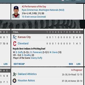Fuera del parque MLB Partituras