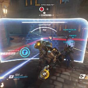Overwatch batalla