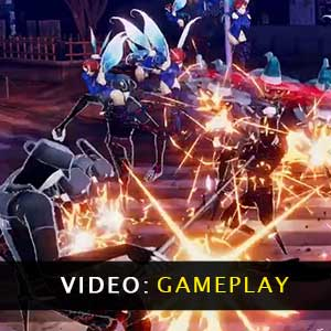 Persona 5 Scramble The Phantom Strikers Gameplay Video