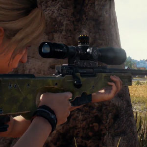 Playerunknowns Battlegrounds francotirador