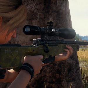 Playerunknowns Battlegrounds francotirador