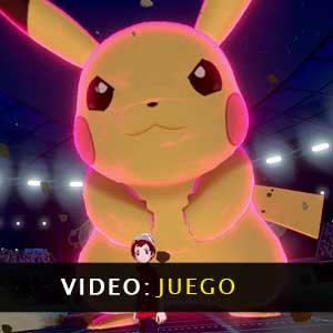 Pokemon Shield Nintendo Switch vídeo de juego