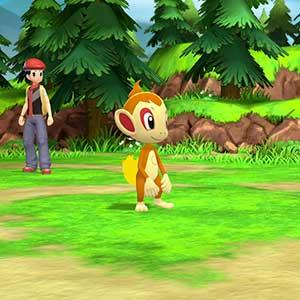 Pokémon Shining Pearl Nintendo Switch Chimchar