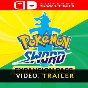 Video del trailer de Pokémon Sword Expansion Pass