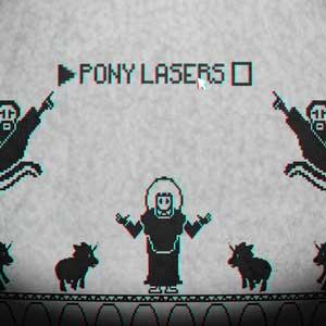 Pony Island Los láseres