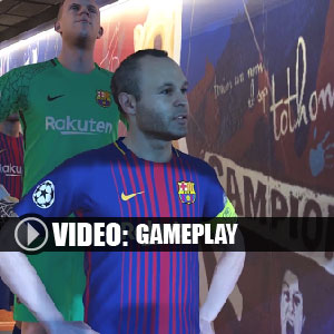 Pro Evolution Soccer 2018 Gameplay Video