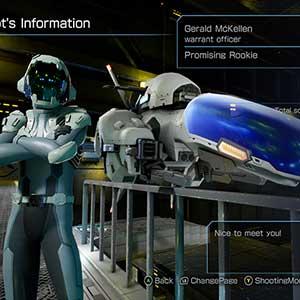 R-Type Final 2 Información del Piloto