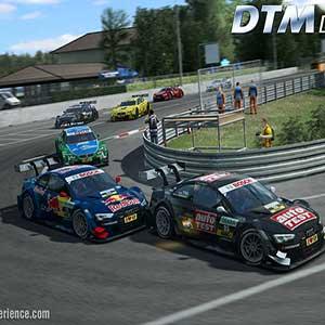 pista y coche para las carreras libres