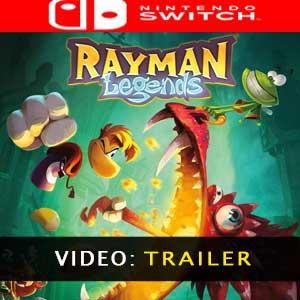 Rayman Legends Nintendo Switch Video dela campaña