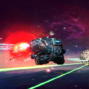Rebel Galaxy Gameplay Environment