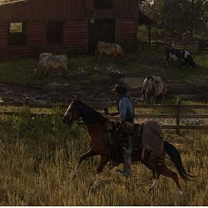 Red Dead Redemption 2 a caballo