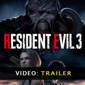 Resident Evil 3 Vídeo del tráiler