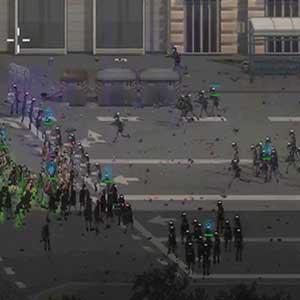 numerous crowd-control tactics