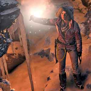 Rise of the Tomb Raider Xbox One - Dentro de la cueva