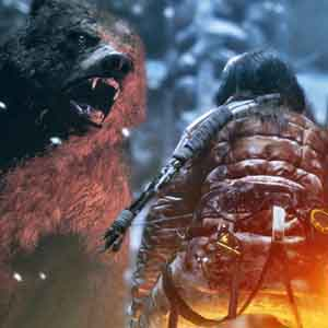 Rise of the Tomb Raider Xbox One - Encuentro Oso salvaje