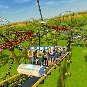 RollerCoaster Tycoon 3 Complete Edition Montaña rusa