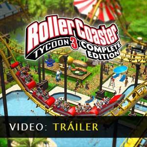 RollerCoaster Tycoon 3 Complete Edition Vídeo del tráiler
